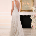6037 Wedding Dress Stella York Back