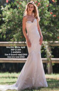 WA2392 White April sale