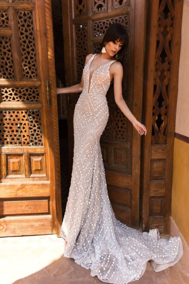 Crystal design love bridal for How much are crystal design wedding dresses
