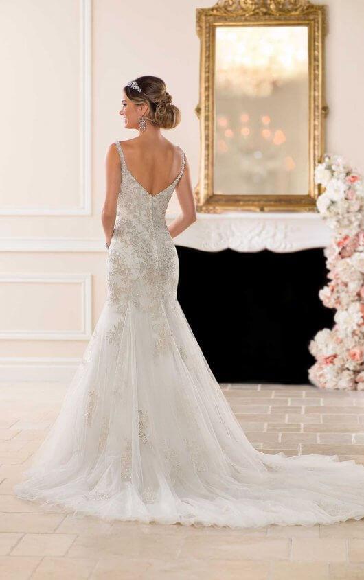 cc416bf34d91 ... 6606 stella york wedding dress back ...