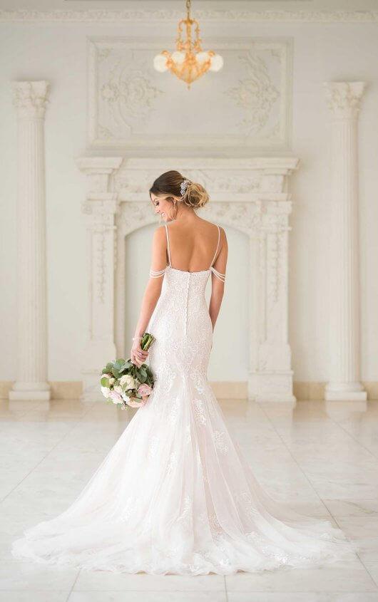 b4ed514ed0a ... 6743 Stella York wedding dress back ...